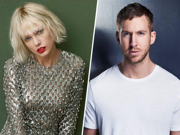 Taylor Swift Putuskan Hubungan dengan Calvin Harris Lewat Telepon?