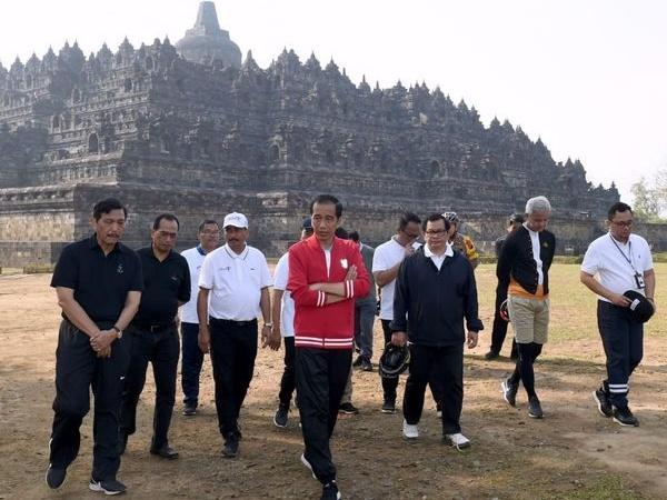 Himbauan Jokowi Soal Pembatasan Jumlah Pengunjung Candi Borobudur