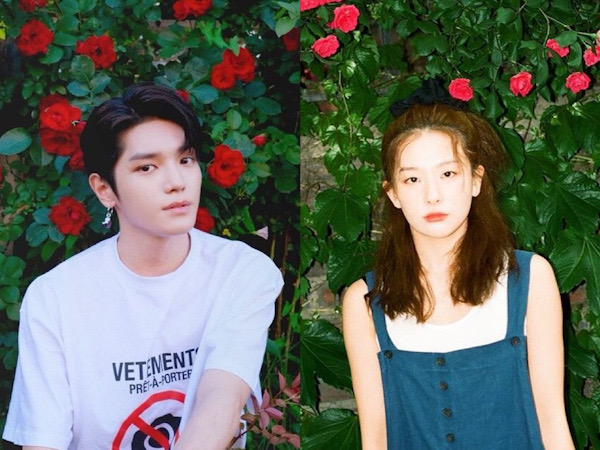 Taeyong NCT dan Seulgi Red Velvet Rilis Lagu Ciptaan Bersama 'Rose'