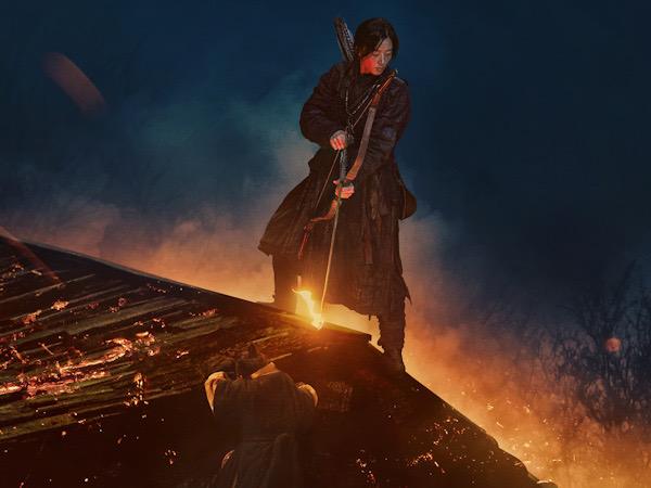 Jun Ji Hyun Berdiri di Atas Serangan Zombie dalam Poster Terbaru 'Kingdom: Ashin of the North'