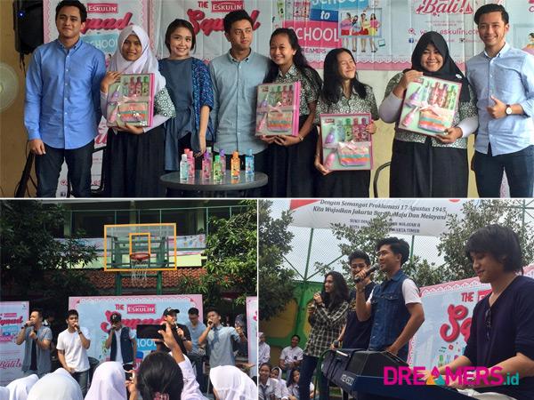 Yuk Simak Serunya Roadshow 'Eskulin Squad School to School' di Jakarta!