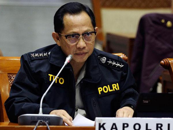 Penjelasan Kapolri Soal Dugaan Pelaku WNI Terlibat Bom Bunuh Diri Filipina