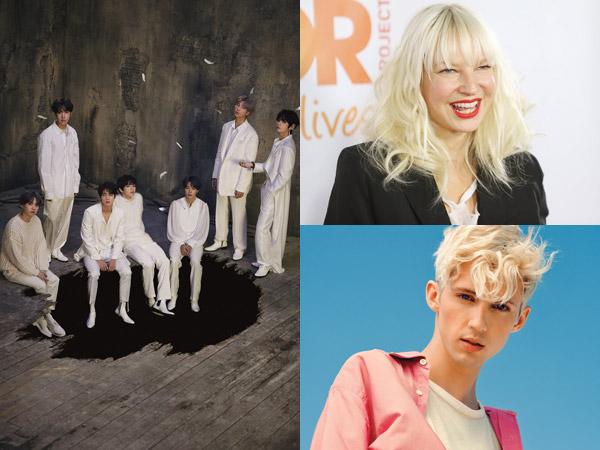 BTS Kolaborasi dengan Sia dan Troye Sivan di Album Baru