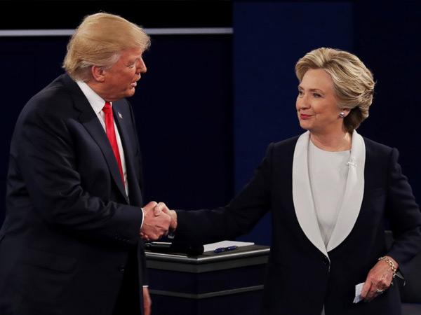 Terpilih Jadi Presiden AS, Donald Trump Ucapkan Terima Kasih dan Puji Hillary Clinton