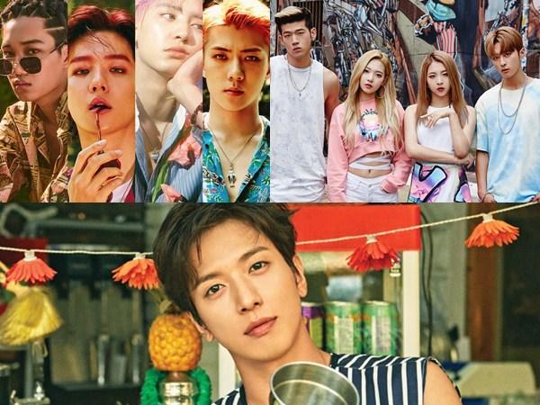 Bersiap Sambut 'Hot Comeback' Deretan Idola K-Pop Ini di Sisa Juli 2017