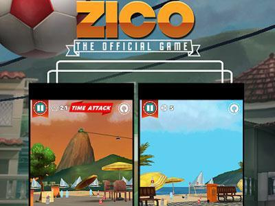 Wow, Game Bola Zico di Android Bikinan Indonesia