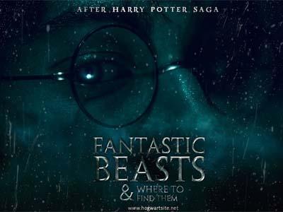 Wow, Draft Spin Off Harry Potter 'Fantastic Beasts' Hanya Dibuat Dalam 12 Hari Oleh JK Rowling!