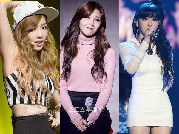 Taeyeon SNSD vs Eunji A Pink vs Park Bom 2NE1, Siapa Idola Wanita dengan Vokal Terbaik?