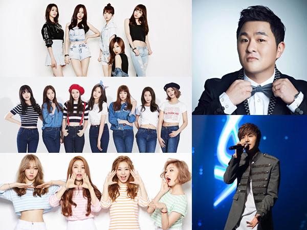 Sederet Idola Kpop Ini Akan Tampil Sukarela Dalam Konser Amal Musim Panas!