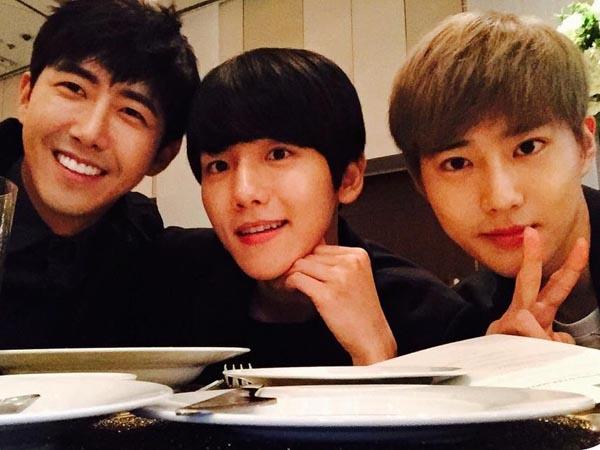 Makin Mahir, Suho dan Baekhyun EXO Beri Pujian Gambar Buatan Kwanghee Ze:A