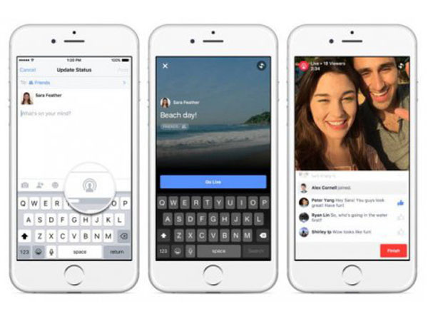 Mirip Periscope, Facebook Rilis Layanan Live Video di Smartphone!