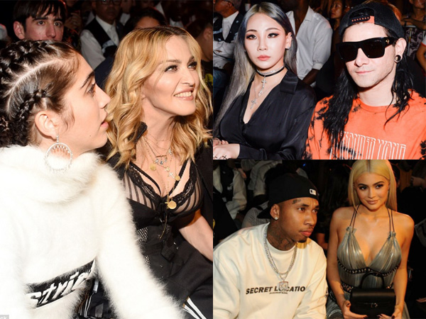 Madonna Hingga CL Jadi Tamu Front Row Alexander Wang di New York Fashion Week