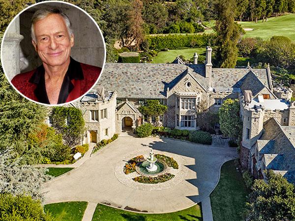 Hugh Hefner Jual Mansion Mewah Playboy dengan Satu Syarat, Apa ya?