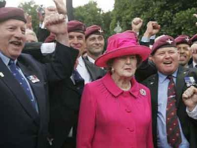 London Siapkan Pemakaman Margaret Thatcher