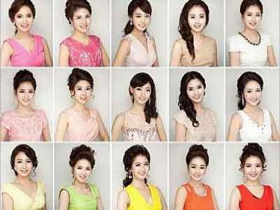 Duh, 20 Kontestan Miss Korea Miliki Wajah Sama