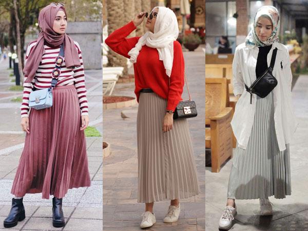 Tips Pakai Rok Plisket Kekinian untuk Penampilan Lebih Fashionable