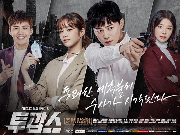 Trik MBC Ini Berhasil Buat Rating 'Two Cops' Naik Drastis di Minggu Kedua Penayangan