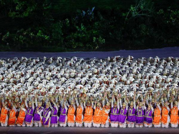 Beda dengan Saman, Kenalan dengan Tarian Ratoh Jaroe yang Viral di Opening Asian Games 2018