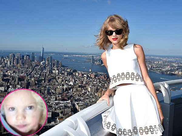 Lucunya, Taylor Swift Bayi Promosikan Album '1989'!