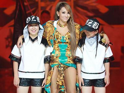 CL 2NE1 Tanggapi Kritikan Netizen Tentang Kostum Baju Renangnya