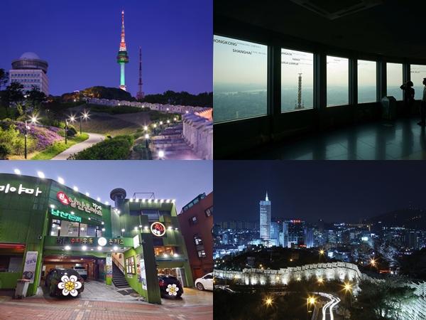 4 Spot Wisata Malam Populer di Sekitar Namsan Tower