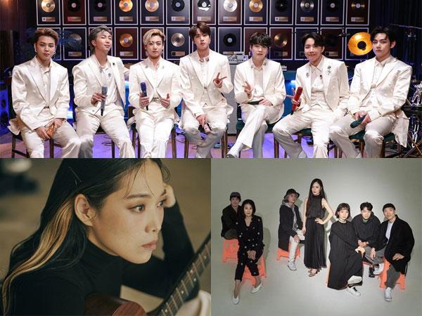 BTS, Leenalchi, dan Jeongmilla Raih Daesang Korean Music Awards 2021
