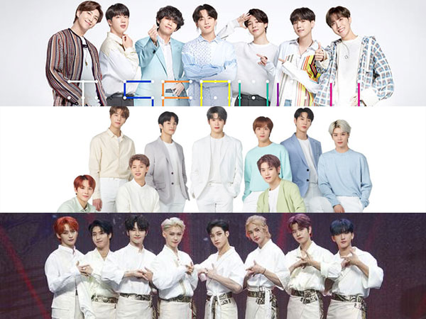 BTS, NCT 127, dan Stray Kids Masih Bertahan di Chart Billboard World Albums Minggu Ini
