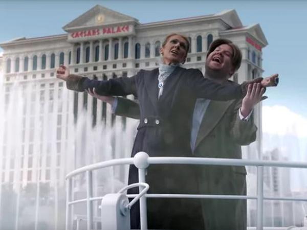 Celine Dion dan James Corden Akting Adegan Fenomenal Titanic, Kocak Tapi Bikin Berdecak Kagum!