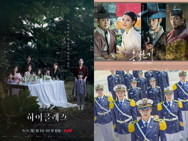 Drama High Class Jadi Pesaing Baru Lovers of the Red Sky dan Police University
