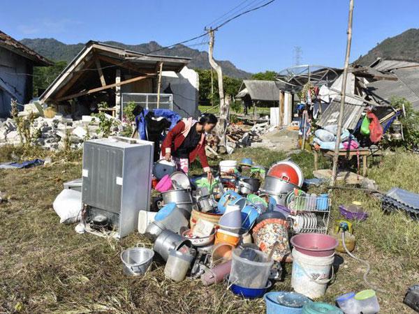 Sudah Tewas 381 Jiwa, Gempa Kembali Guncang Lombok, 6.2 SR!