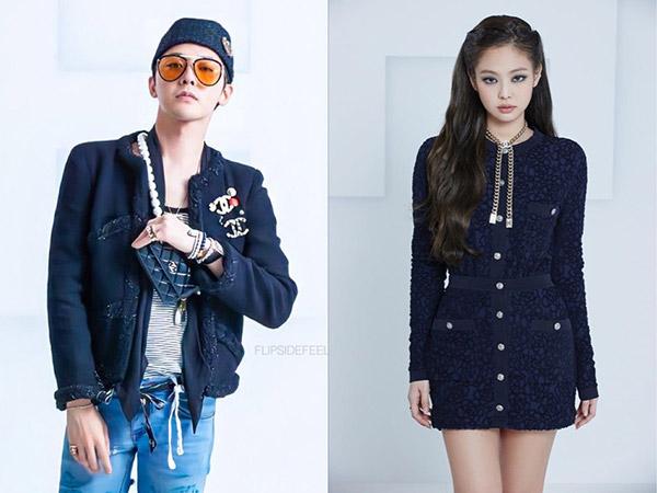Gaya Kece G-Dragon dan Jennie BLACKPINK Hadiri Runway Show Chanel
