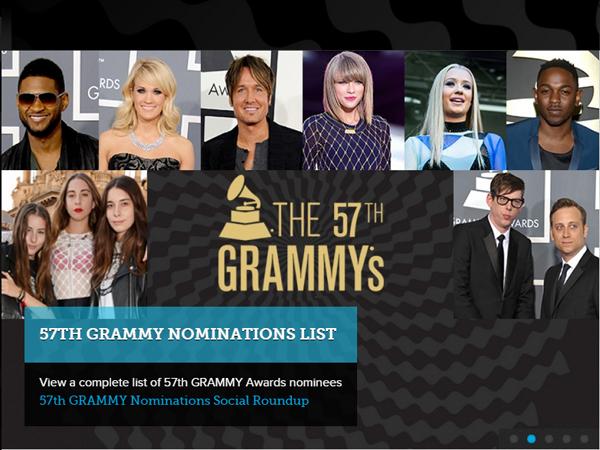 Ini Daftar Para Musisi yang Masuk Nominasi Grammy Awards 2015!