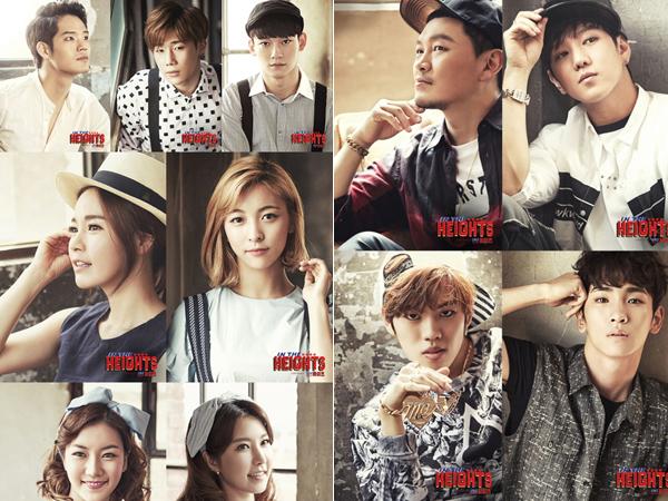 Member SHINee, Infinite, EXO dan f(x) Ramai-ramai Bintangi Drama Musikal 'In The Heights'