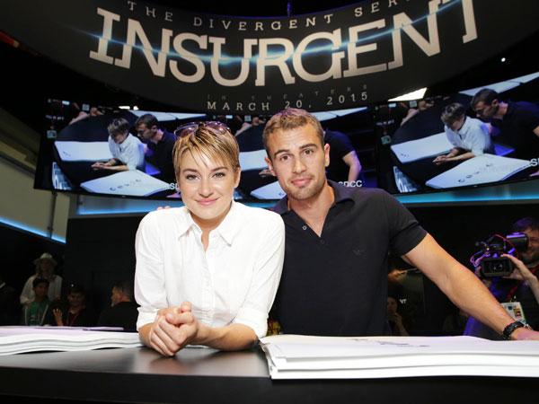 Bintang Divergent Tampil Memukau Dalam Poster Canggih 'Insurgent' !