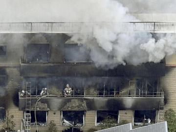 Kondisi Mengenaskan Jasad Korban Pembakaran Studio KyoAni Jepang: Tertumpuk-tumpuk