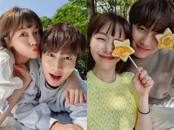 Potret Gemas Minah Girl's Day dan Kwon Hwa Woon Sebelum Putus