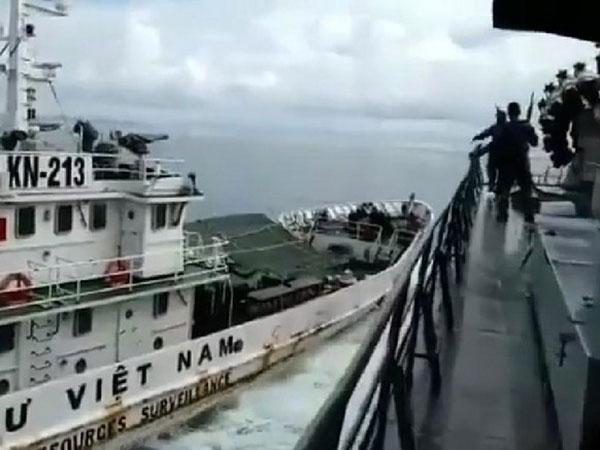 Kronologi Kapal Vietnam Tabrak KRI Hingga Keluarnya Ancaman 'Tenggelamkan' dari Bu Susi