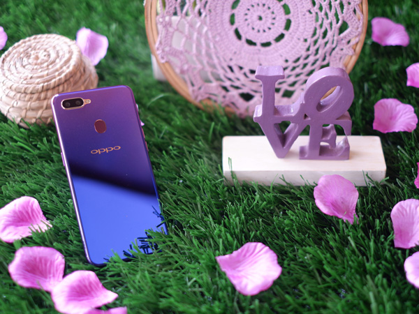 Oppo F9 Starry Purple Resmi Dirilis dengan Pilihan RAM 6 GB