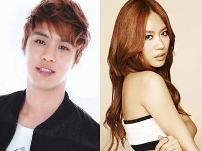 Seungho MBLAQ & Fei Miss A Ikut Dancing With the Stars Season 3
