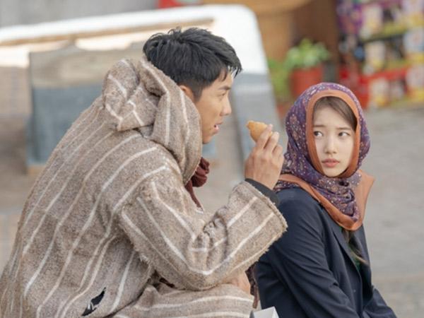 Suzy Pakai Pashmina Bermotif di Drama Vagabond Kembali Jadi Sorotan