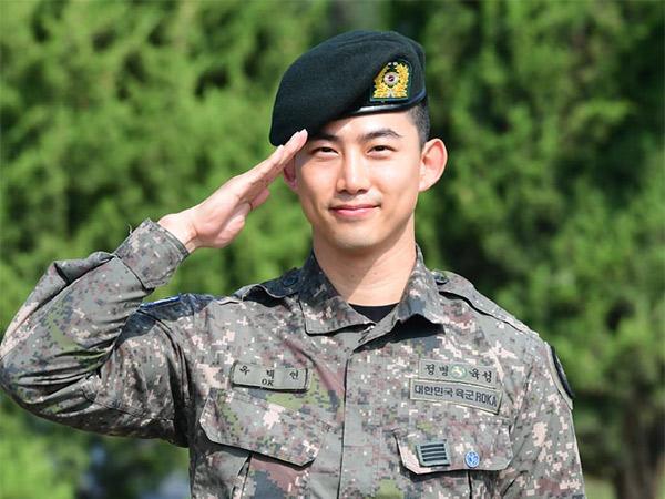 Dijemput Chansung, Taecyeon 2PM Resmi Keluar Wajib Militer