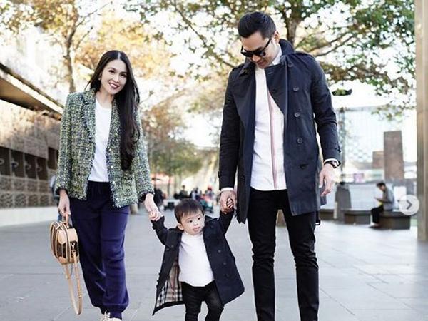 Liburan di Melbourne, Sandra Dewi Umumkan Hamil 6 Bulan