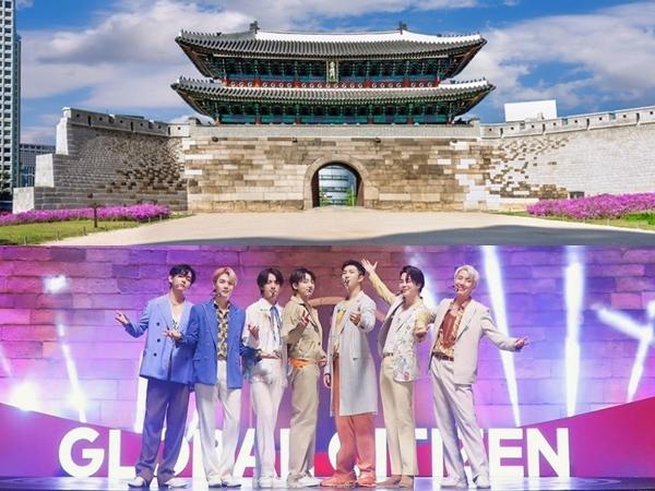 Wisata ke Sungnyemun Gate, Lokasi Panggung BTS untuk Global Citizen