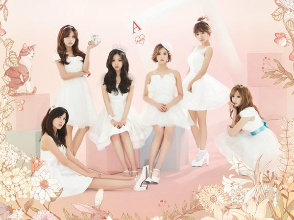 Cantiknya Para Member A Pink Tampil Bak Puteri di Poster Individu untuk Konser Solonya