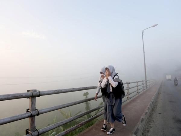 Kabut Asap Riau Tak Kunjung Hilang, 34.846 Warga Terjangkit ISPA