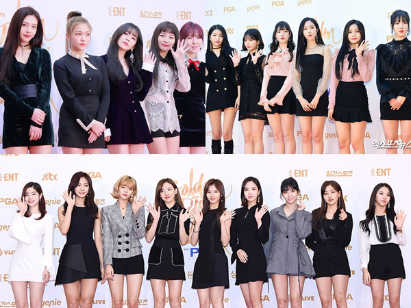 Inilah Deretan 'Best Dress' Aktris Hingga Girl Group di '#GDA2018 - Day 1'!