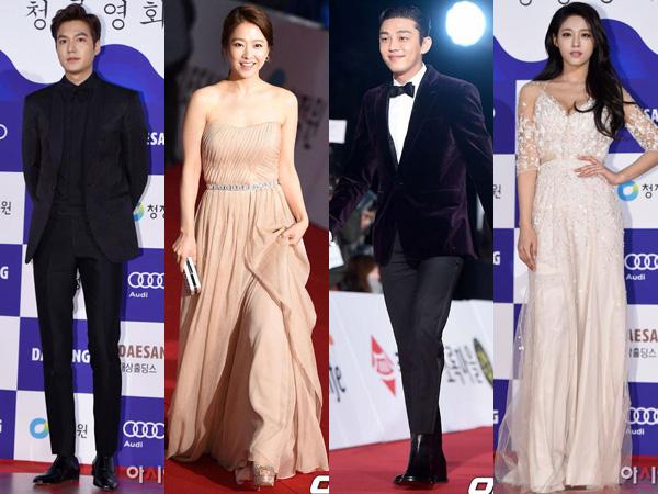 Simak Gaya Classy dan Elegant Para Aktor dan Aktris Ternama Korea di 'Blue Dragon Awards 2015'