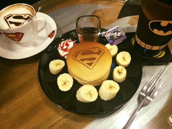 DC Comics Super Heroes Cafe, Kafe Unik Bagi Pecinta Karakter Super Hero