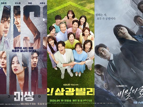 Persaingan Ketat, Tiga Drama Akhir Pekan Cetak Sejarah Rating Tertinggi