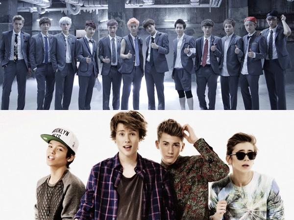 Ketahuan Tiru Koreografi EXO, Boyband Asal Swedia Ini Buat Netizen Geram!